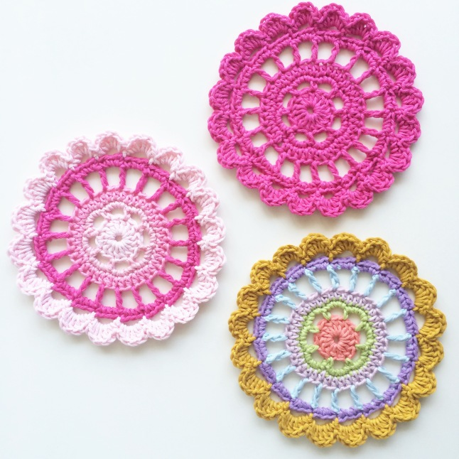 Pretty Polly Mandalas